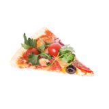 Pizza on the table Royalty Free Stock Photos