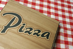 Pizza take-away Royalty Free Stock Photography