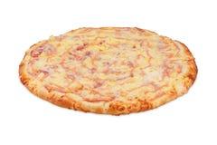 Pizza thailändisch Lizenzfreies Stockbild