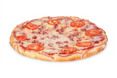 Pizza Three salsa Royalty Free Stock Photography