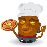 Pizza tiki Stock Images
