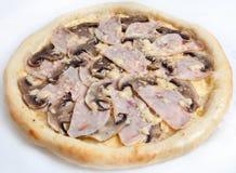 Pizza, tipos diferentes das pizzas ao menu do restaurante e pizaria Fotografia de Stock