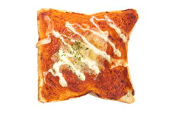 Pizza toasted Royalty Free Stock Image