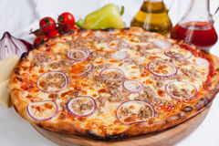 Pizza Tonno Royalty Free Stock Images