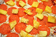 Pizza Toppings Stock Photography