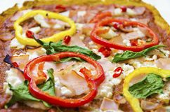 Pizza toppings Stock Photo