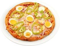 Pizza Toscanië Royalty-vrije Stock Afbeeldingen