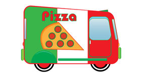 Pizza Truck Royalty Free Stock Photo