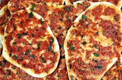 Pizza turca Fotos de Stock Royalty Free