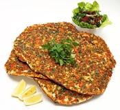 Pizza turca Imágenes de archivo libres de regalías