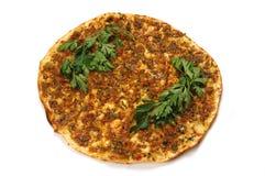 Pizza turca Immagine Stock