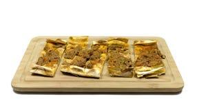 Pizza turca immagine stock libera da diritti
