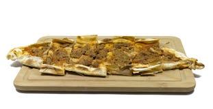 Pizza turca fotografie stock