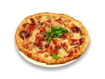 Pizza turque photographie stock