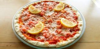Pizza u. x22; Sicily& x22; stockfotografie