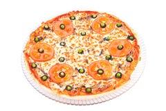 pizza ałun siciliana obrazy stock