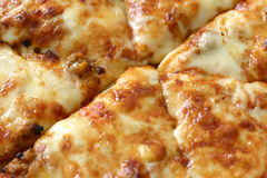 Pizza upclose Stock Foto
