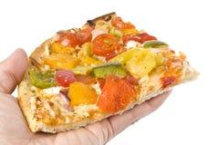 Pizza végétarienne Photographie stock