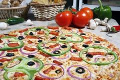 Pizza végétarienne Photo libre de droits
