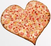 Pizza,  Valentine's Day Stock Photos