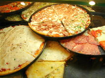 Pizza. A Variety of Italian Pizzas Stock Image