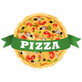 Pizza. Vector Stock Images