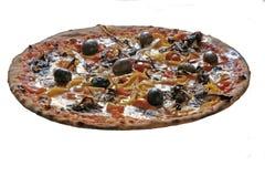 Pizza vegetal Fotos de archivo libres de regalías