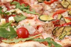 Pizza vegetal Imágenes de archivo libres de regalías