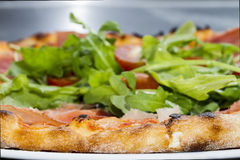 Pizza vegetal quente Fotografia de Stock Royalty Free