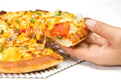 Pizza vegetarian Royalty Free Stock Photos