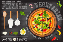 Pizza Vegetarian Stock Photos