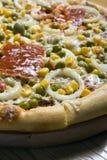 Pizza vegetariana Stock Photos