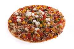Pizza vegetariana Immagine Stock