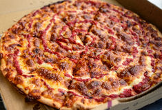 Pizza vegetariana immagine stock libera da diritti