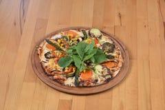 Pizza vegetariana Foto de archivo