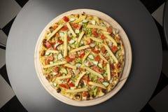 Pizza vegetariana Stock Image