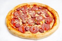 Pizza, verschiedene Arten von Pizzas zum Menü des Restaurants und Pizzeria lizenzfreie stockfotos