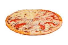 Pizza vier Jahreszeiten Stockbild