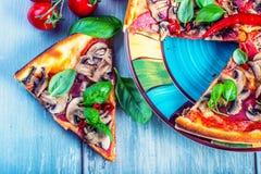 pizza włoskiej Fotografia Stock