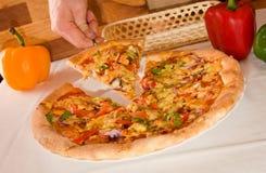 pizza włoskiej obraz royalty free