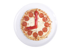 Pizza watch Royalty Free Stock Photos