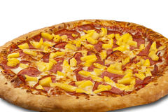 Pizza on the white background Royalty Free Stock Images