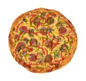 Pizza. On white background Stock Photos