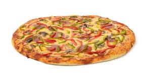 Pizza. On white background Stock Image
