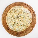 Best Pizza italian food. Pizza on white background, Italian food Stock Photo