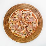 Best Pizza italian food royalty free stock photography