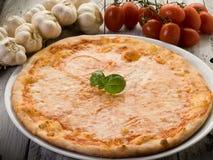 Free Pizza With Buffalo Mozzarella Stock Photography - 19274212