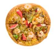 pizza wyśmienicie owoce morza Obraz Royalty Free