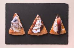 Pizza wyśmienity plasterek zdjęcia royalty free