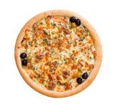 Pizza y cocina italiana. Imagen de archivo